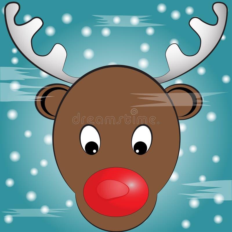 Kerstmisillustratie royalty-vrije stock foto