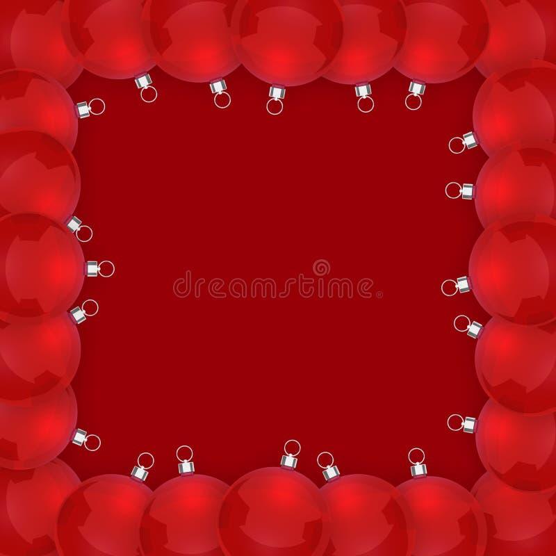 Kerstmiskader vector illustratie