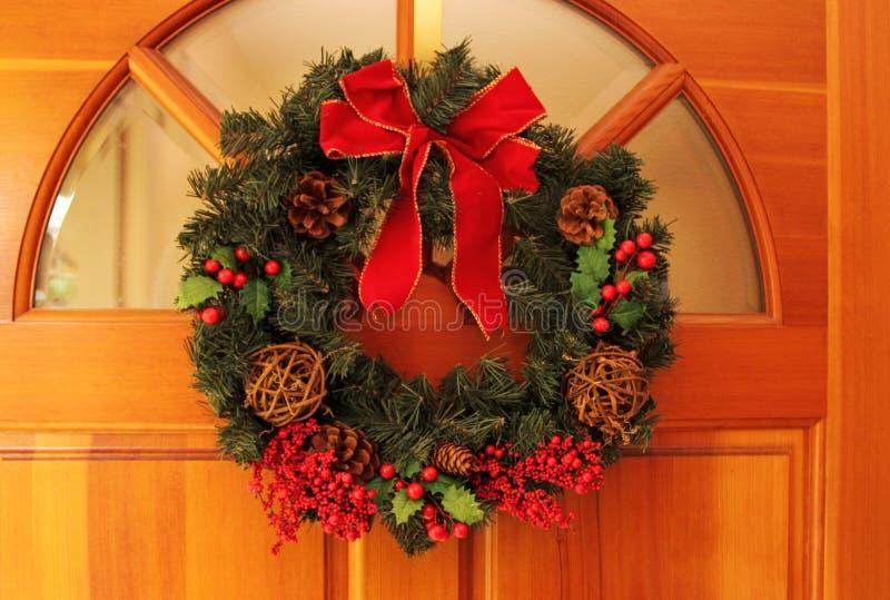 Kerstmiskronen royalty-vrije stock afbeeldingen