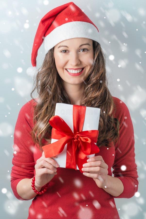 Kerstmislevering stock foto's