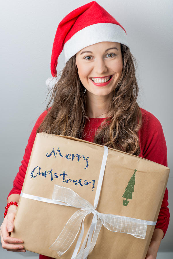 Kerstmislevering royalty-vrije stock fotografie