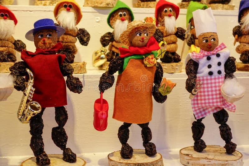 Kerstmismarkt in Nuernberg, Duitsland royalty-vrije stock foto's