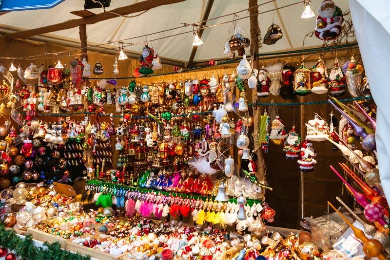 Kerstmismarkt van Dresden stock afbeelding