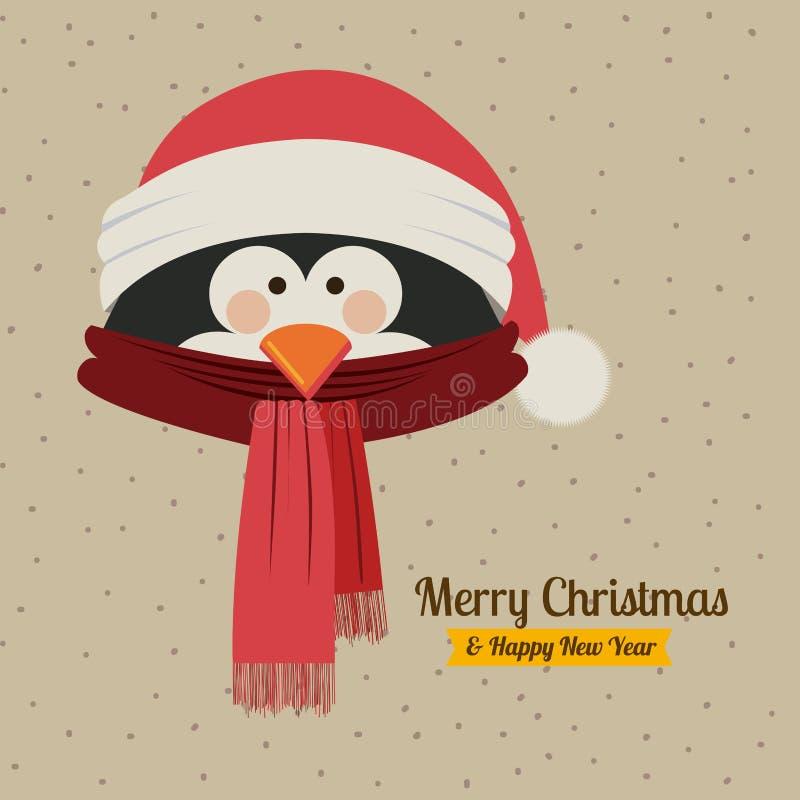 Kerstmisontwerp stock illustratie