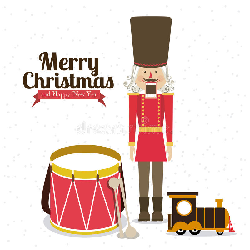 Kerstmisontwerp royalty-vrije illustratie