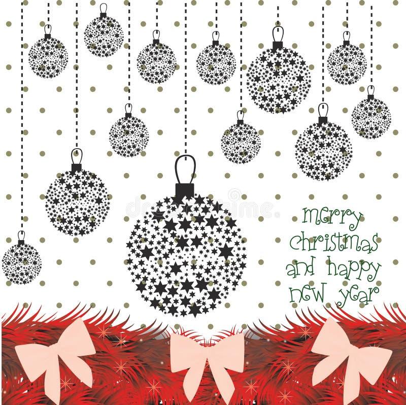 Kerstmisontwerp vector illustratie