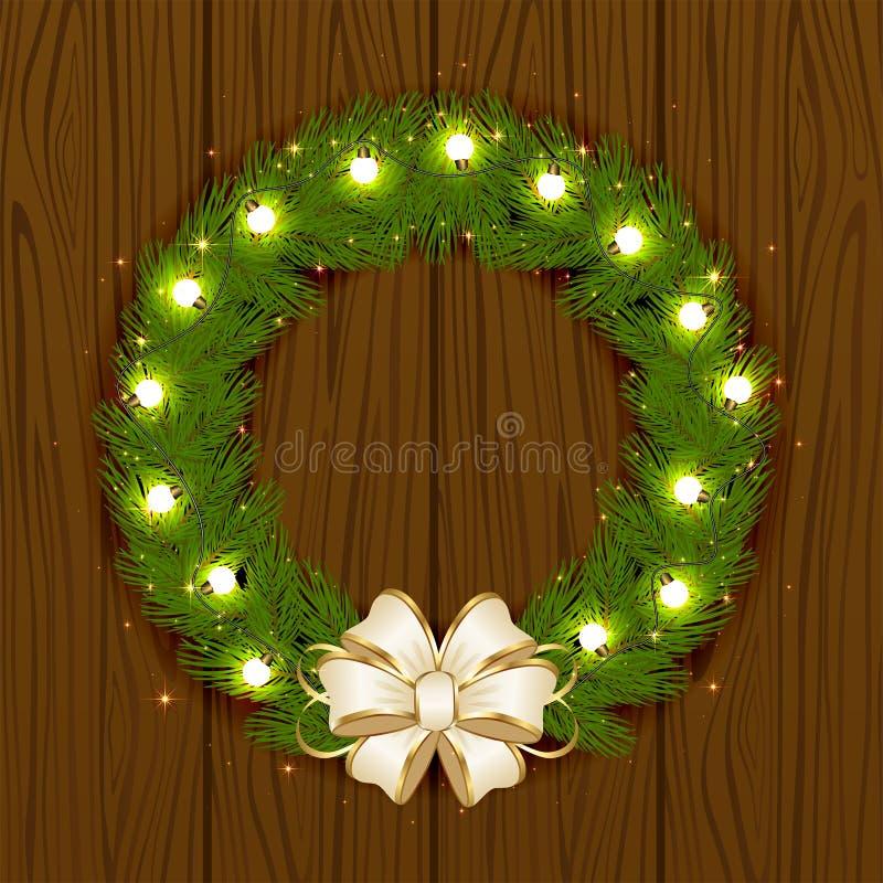 Kerstmisslinger vector illustratie