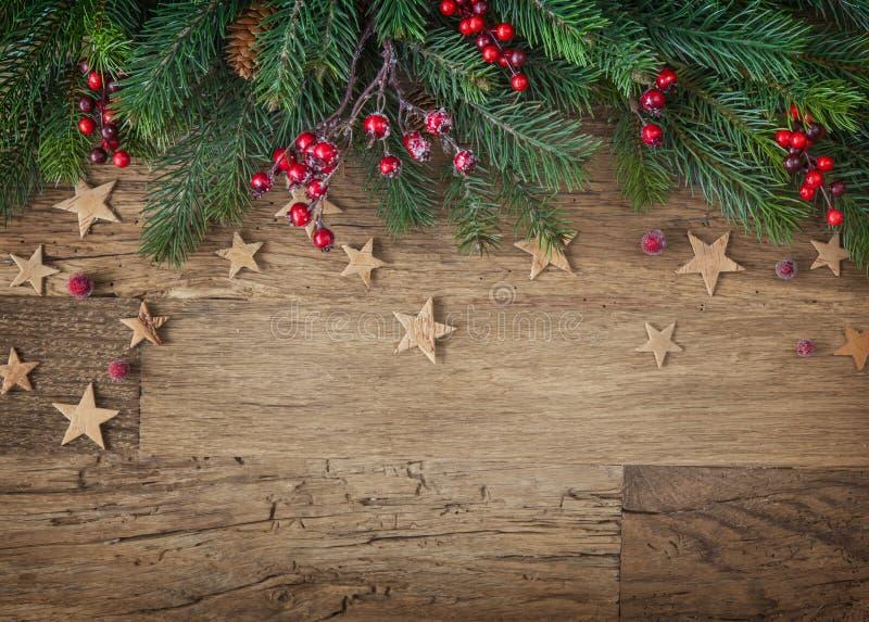 Kerstmisspar royalty-vrije stock afbeelding