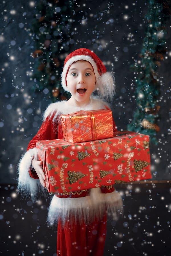 Kerstmissprookje stock foto