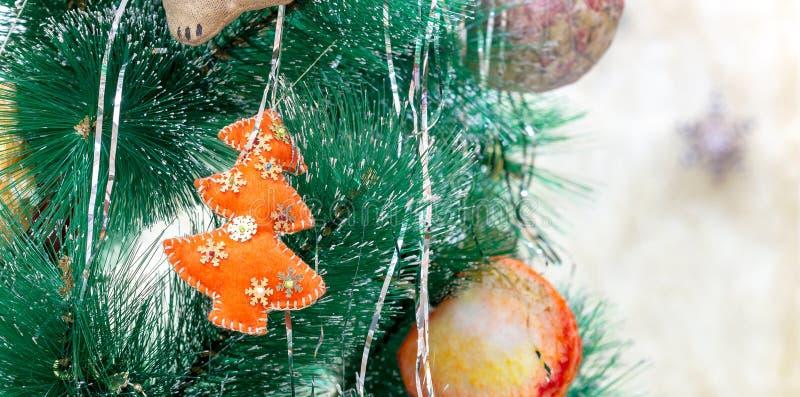 Kerstmisstuk speelgoed visgraat stock fotografie