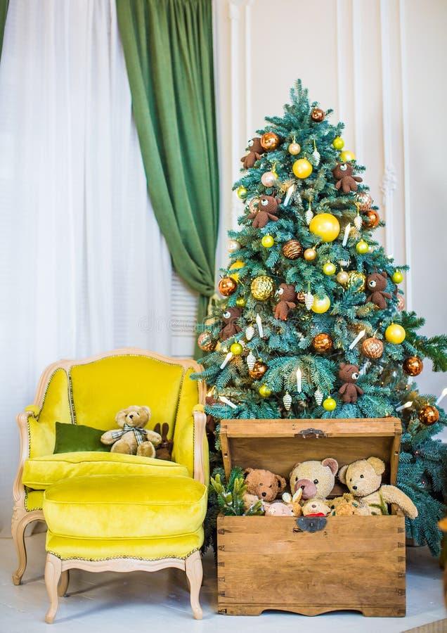 Kerstmisstuk speelgoed voor Kerstboom royalty-vrije stock afbeeldingen