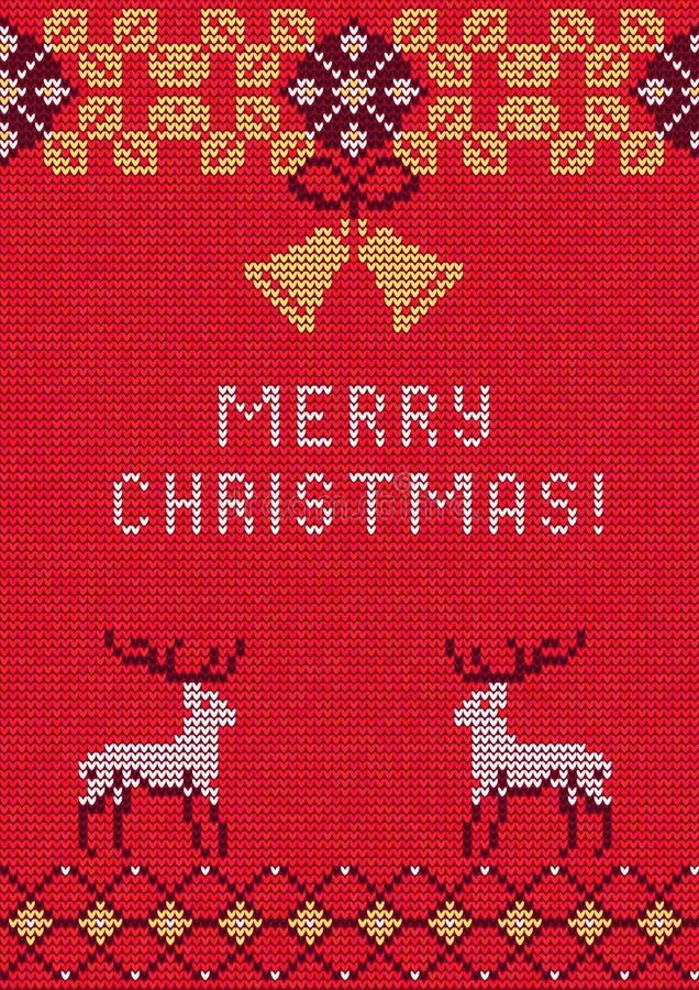 Kerstmissweater 27 vector illustratie