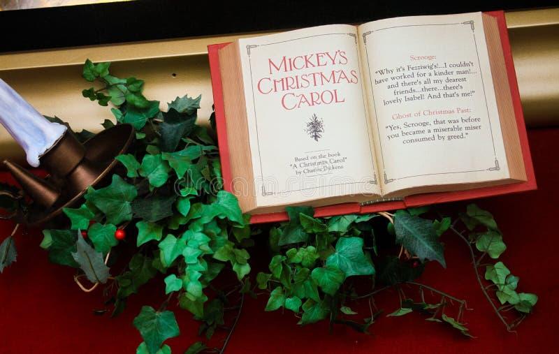 Kerstmistijd in Disney-Wereld stock afbeelding