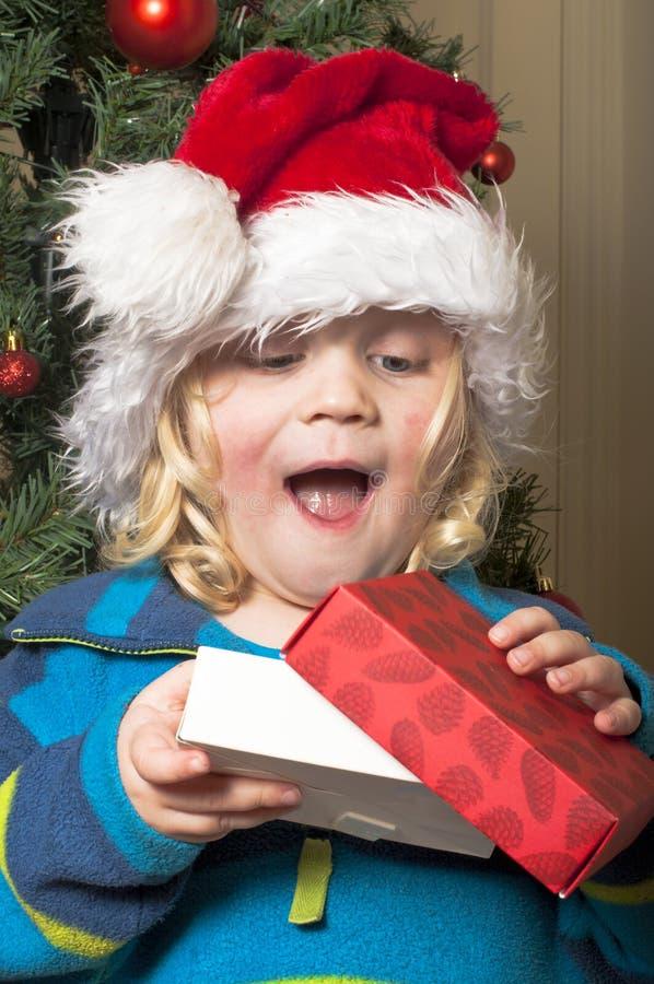 Kerstmisverrassing royalty-vrije stock afbeeldingen