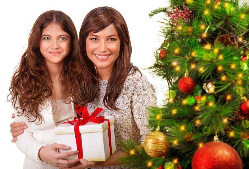 Kerstmisviering stock fotografie