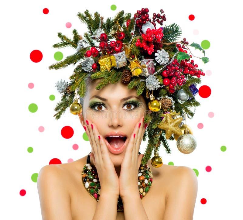 Kerstmisvrouw