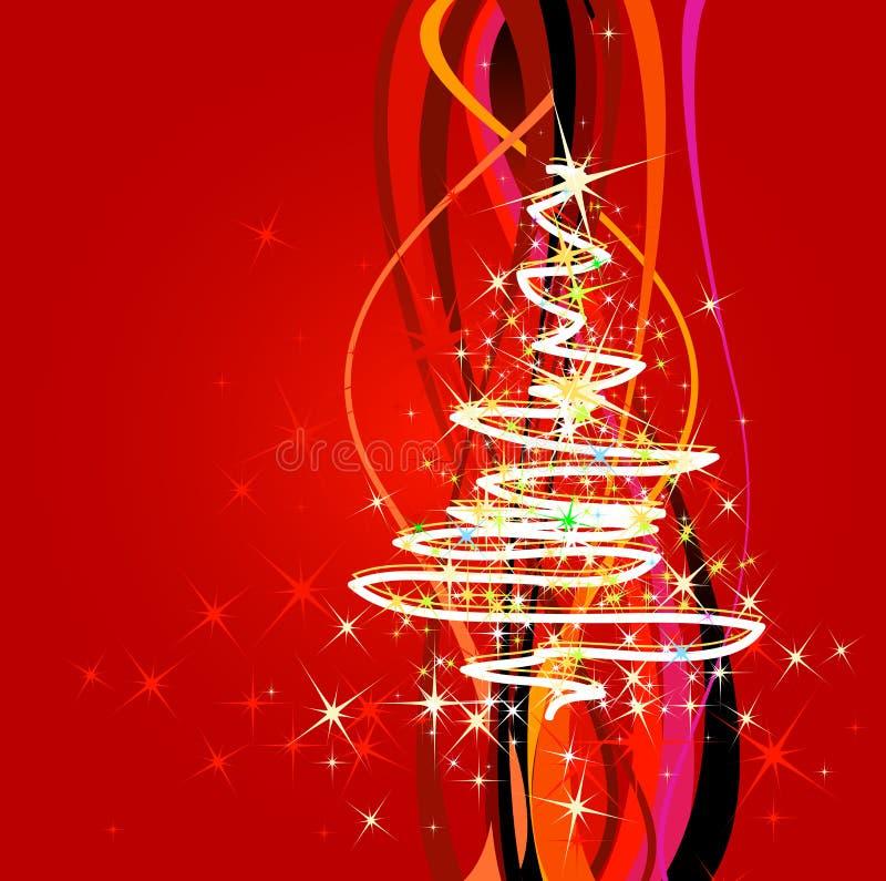 Kersttijd stock illustratie