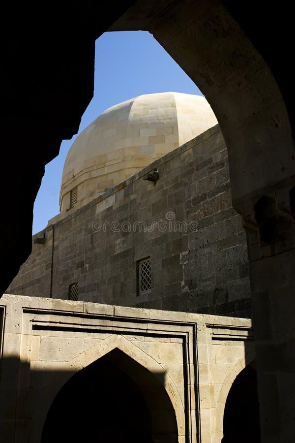 Kervansaray (ii), Bakou. image stock