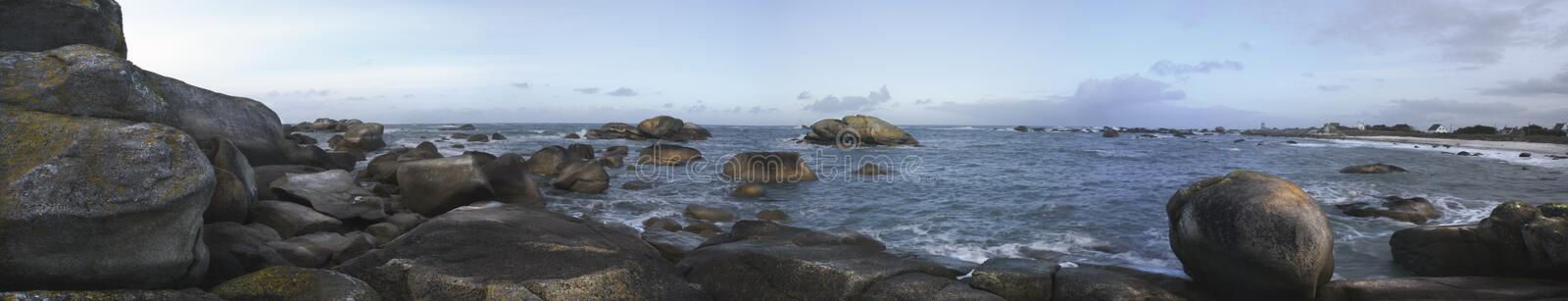 Download Kerveren, Oceans  Panorama, France, Hdr Stock Photo - Image: 13262568