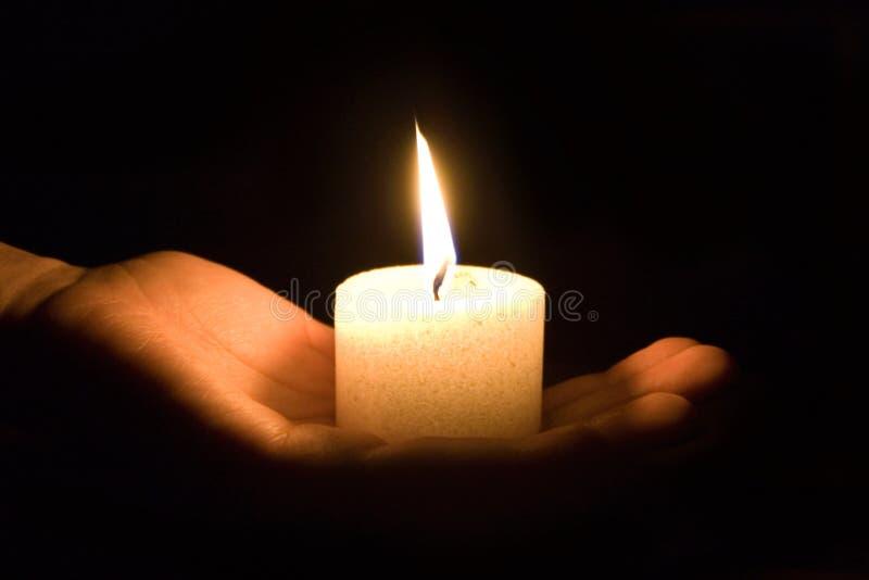 Kerze 2 stockbild