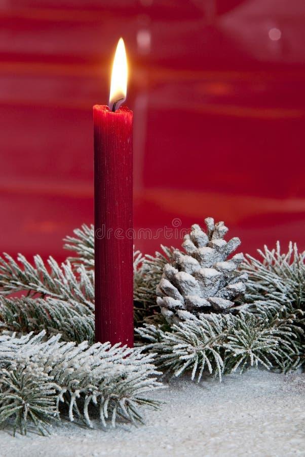 Download Kerze stockbild. Bild von gold, zweig, farbe, frost, feuer - 26354613