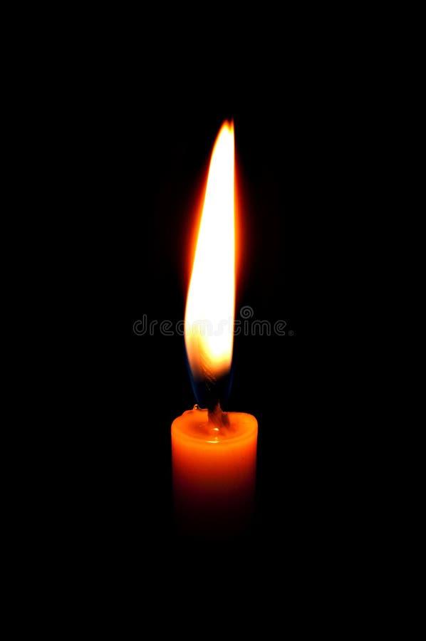 Kerzefeuer stockfotos
