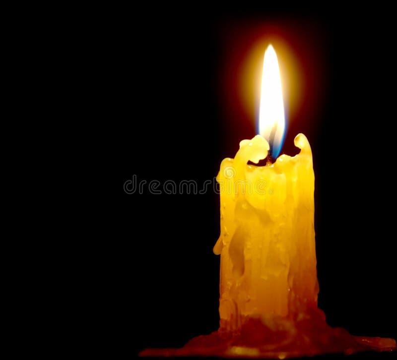 Kerzeleuchte lizenzfreies stockfoto