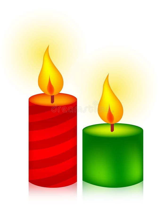 Kerzen stock abbildung