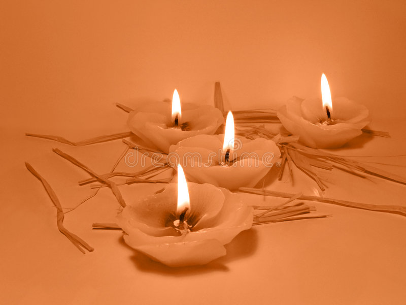 Kerzen Lizenzfreies Stockfoto