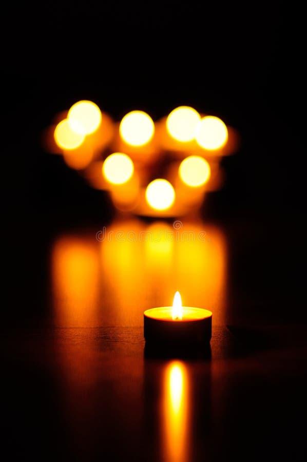 Kerzen lizenzfreie stockbilder
