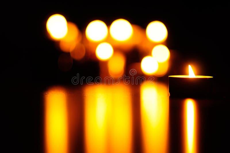 Kerzen stockfotografie