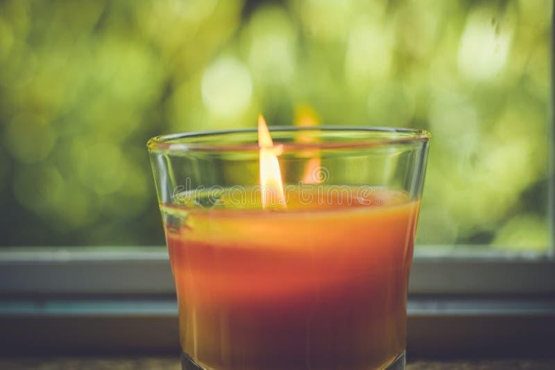 Kerzen-Glühen stockfotos