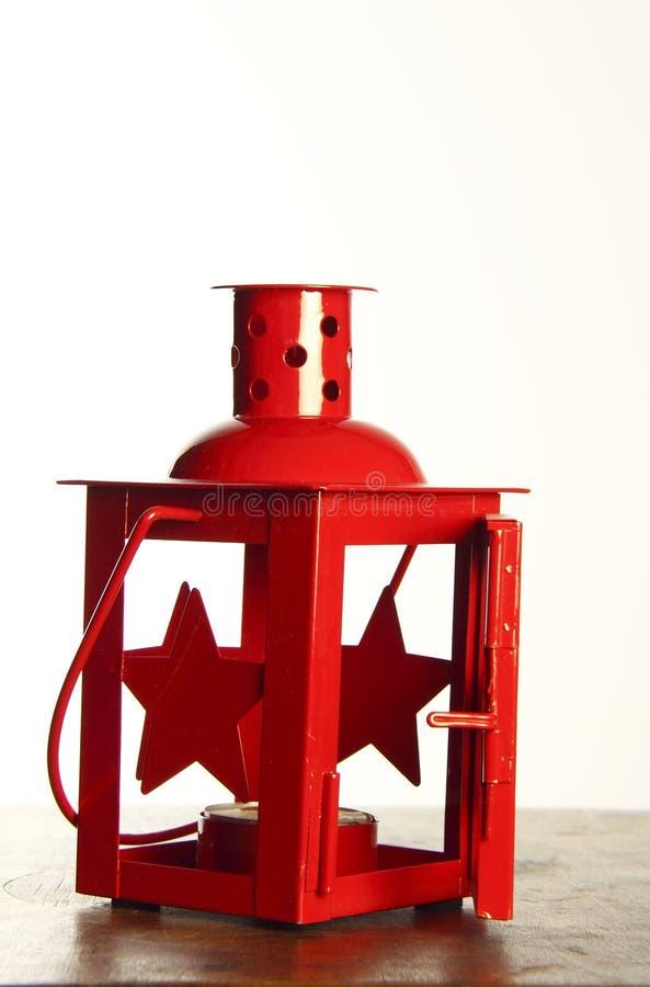Kerzen-Lampe stockbild
