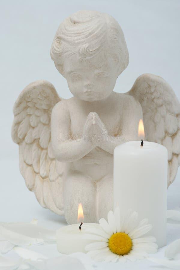 Kerzen noch Leben stockfoto