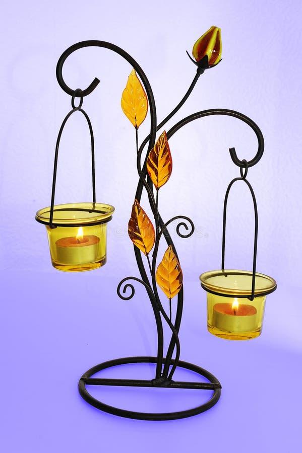 Kerzenhalter stockfoto