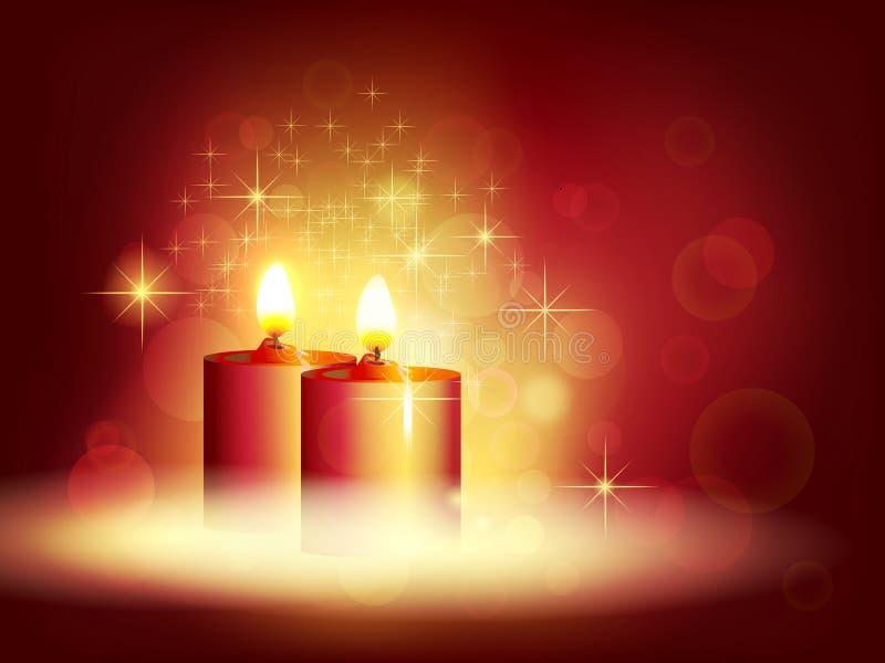 Kerzenlicht stockfotografie