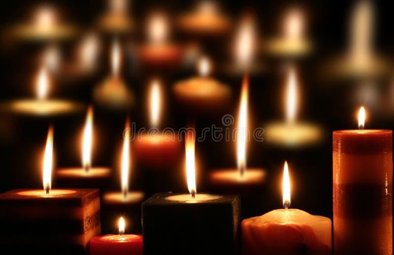Kerzenlicht stockfoto
