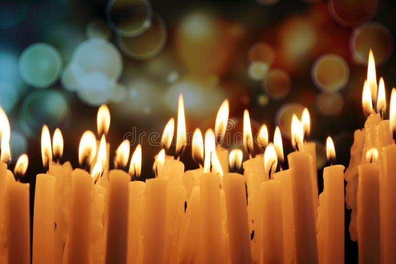 Kerzenlichter lizenzfreie stockbilder