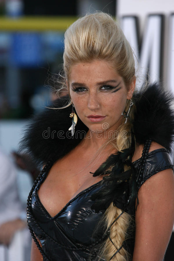Download Kesha editorial stock photo. Image of kesha, angeles - 25585678