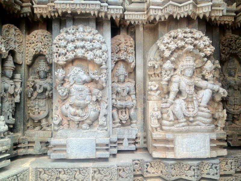 KESHAVA-TEMPEL I INDIEN arkivbilder