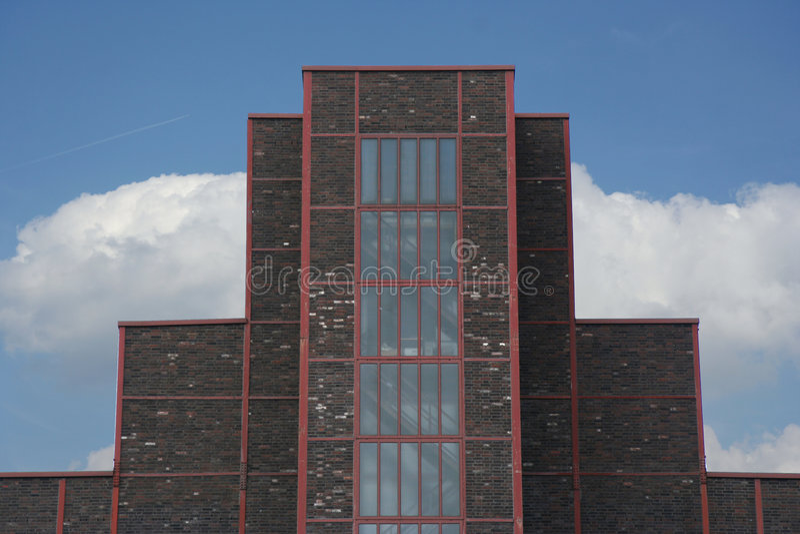 Kesselhaus von Zollverein lizenzfreies stockbild
