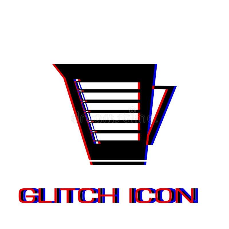 Kesselikone flach vektor abbildung