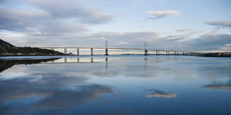 Kessock Bridżowy Szkocja zdjęcia royalty free