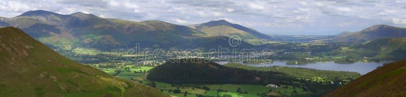 Keswick 1 panoramique photographie stock