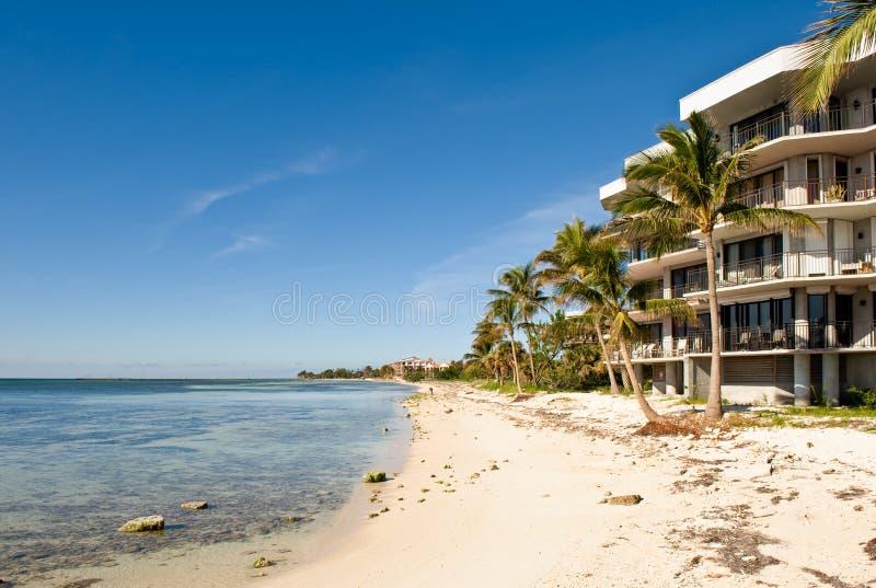 ket кондо пляжа переднее западное стоковая фотография rf