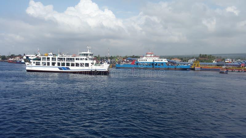 Ketapang-Hafen lizenzfreies stockbild