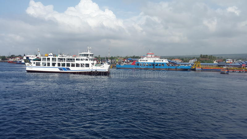 Ketapang Port royalty free stock image