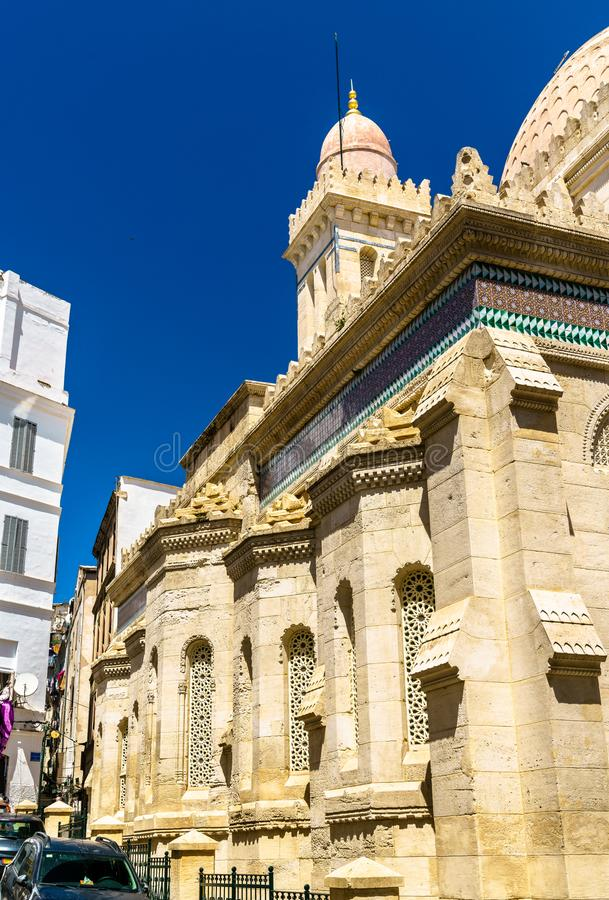 Ketchaoua清真寺在阿尔及尔,阿尔及利亚Casbah  免版税库存照片
