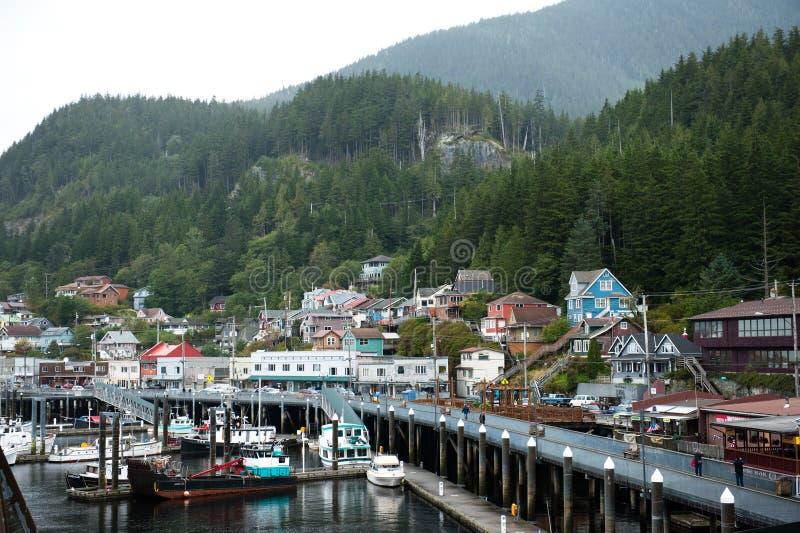 Ketchikan, Αλάσκα στοκ εικόνες με δικαίωμα ελεύθερης χρήσης