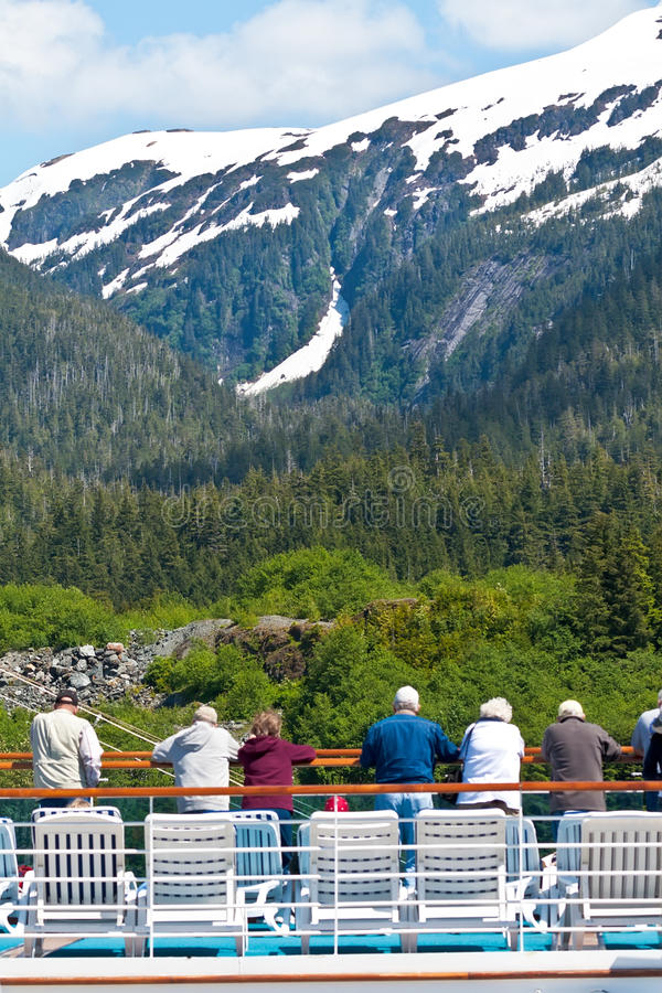 Ketchikan, Αλάσκα στοκ εικόνα με δικαίωμα ελεύθερης χρήσης